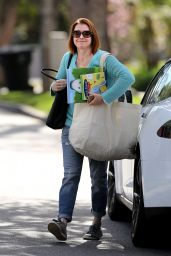 Alyson Hannigan Shopping in Santa Monica, May 2015
