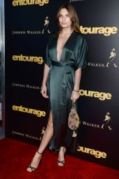 Alyssa Miller Entourage Special Screening at the Paris Theatre in New York City
