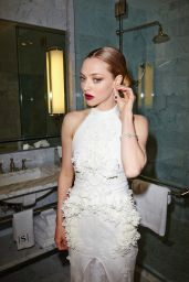 Amanda Seyfried – 2015 MET Gala Prep Photo Diary