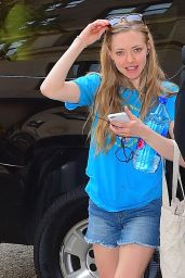 Amanda Seyfried - Out in NYC, May 2015