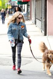 Amanda Seyfried - Out With Finn in NYC, April 2015