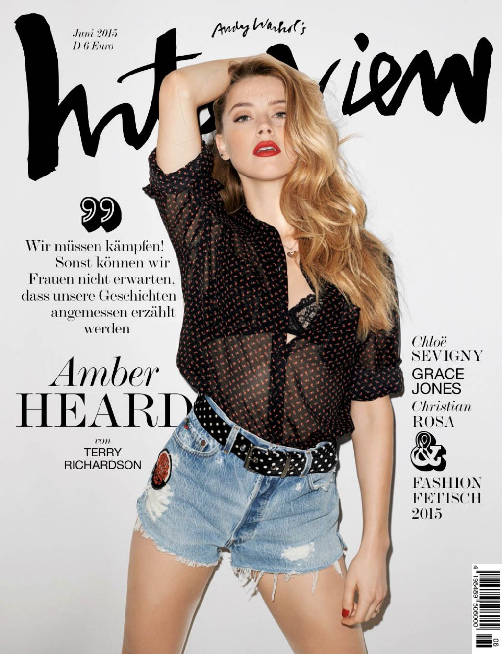 amber heard terry richardson photoshoot for interview. Black Bedroom Furniture Sets. Home Design Ideas
