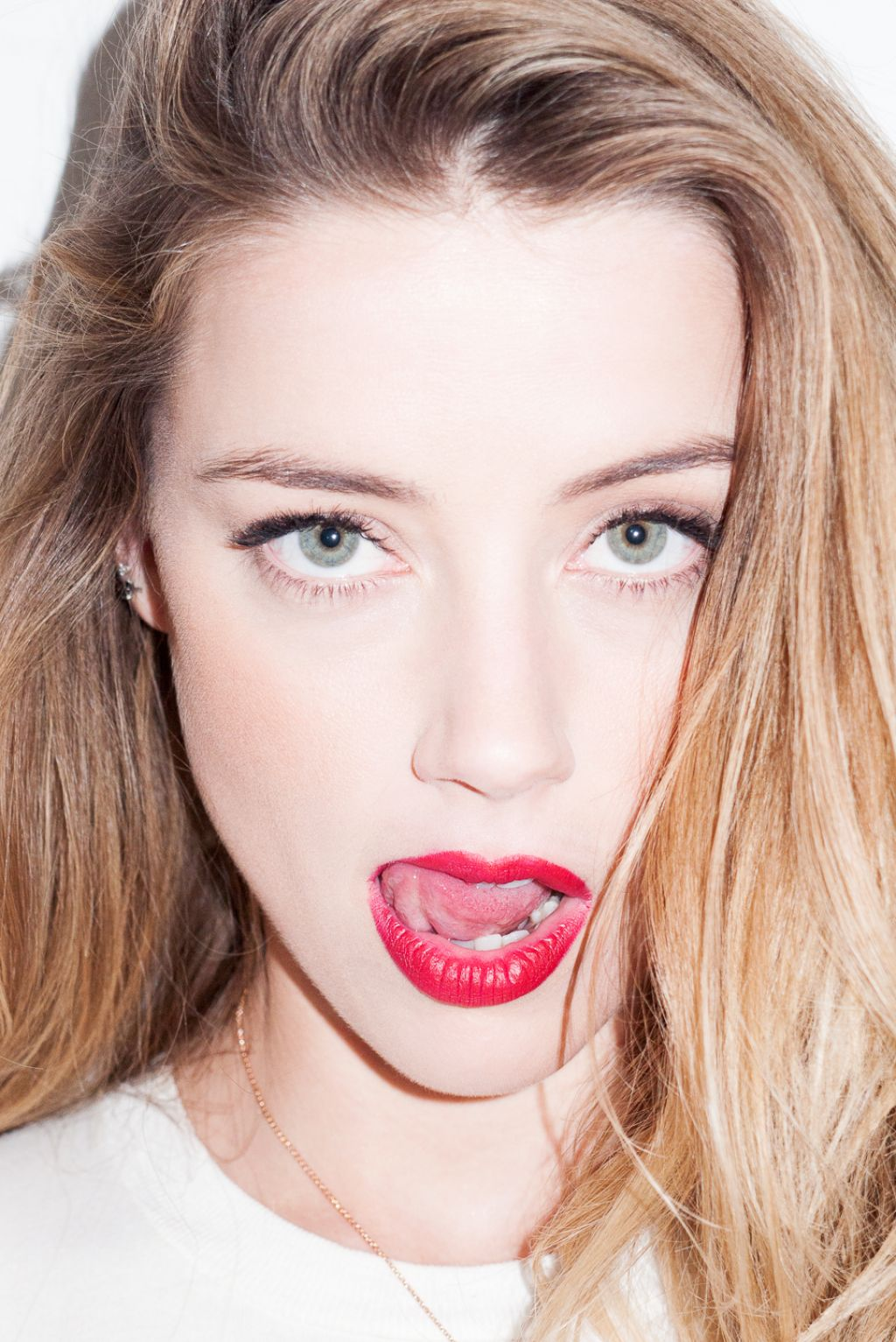 Amber Heard - Terry Richardson Photoshoot for Interview ... Amber Heard