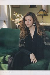 Amber Tamblyn - Bust Magazine April - May 2015 Issue