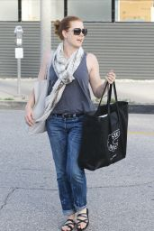 Amy Adams - Shopping in Los Angeles, April 2015