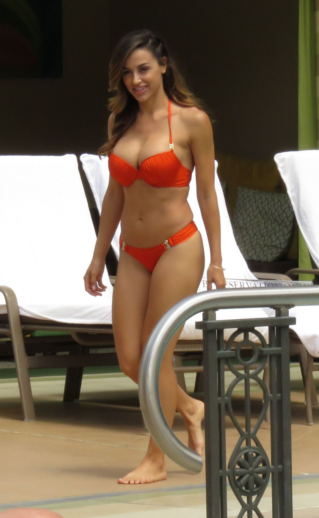 Ana Cheri Hot in Bikini - at the Pool in Las Vegas, May 2015