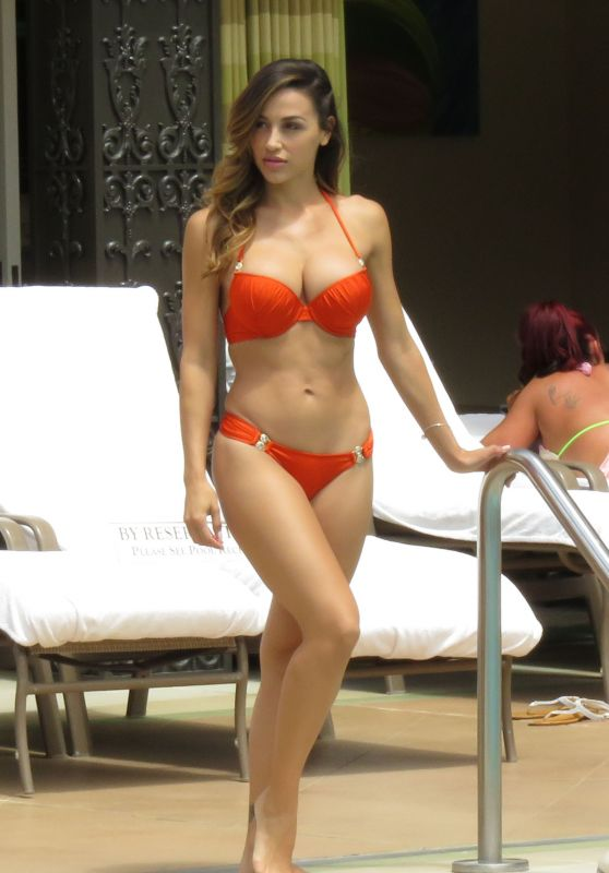Ana Cheri Hot in Bikini - at the Pool in Las Vegas, May 2015