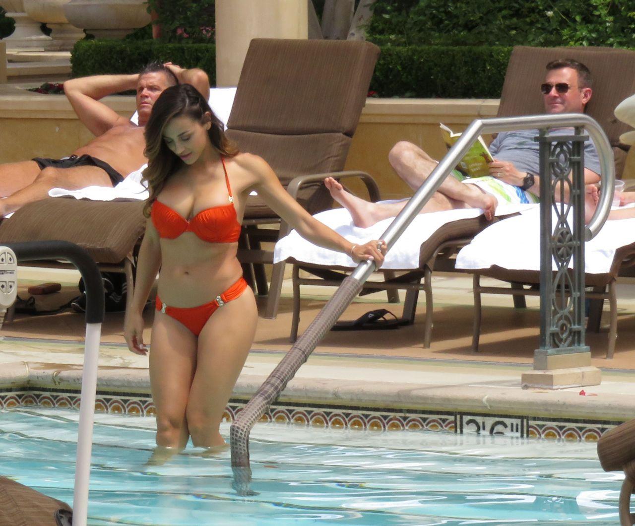 Ana cheri hot in bikini at the pool in las vegas may 2015 for Pool show vegas 2015