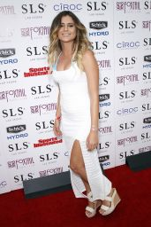Anastasia Ashley – Sports Illustrated Fight Weekend Party at SLS Las Vegas, May 2015