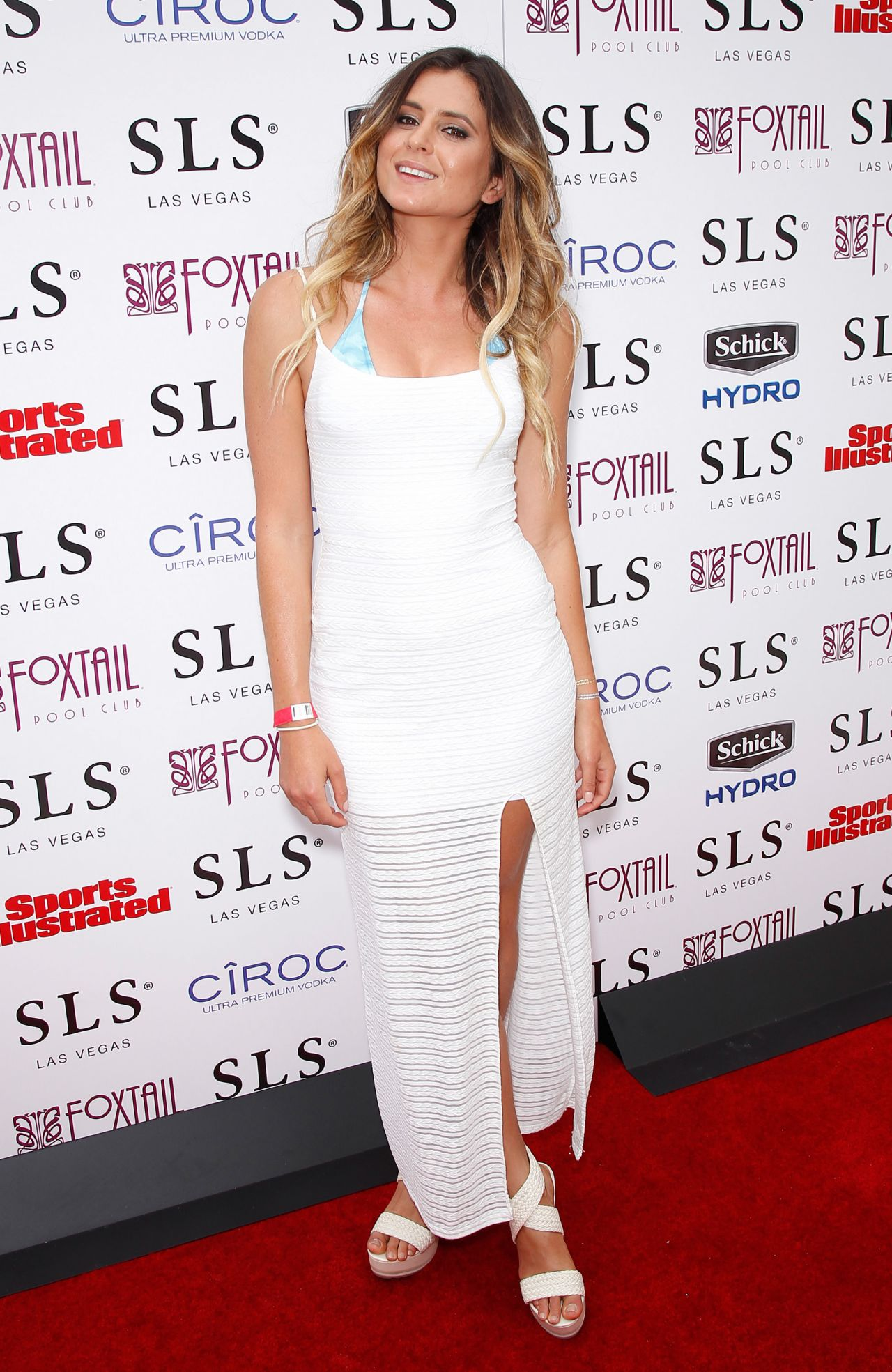Anastasia Ashley Sports Illustrated Fight Weekend Party