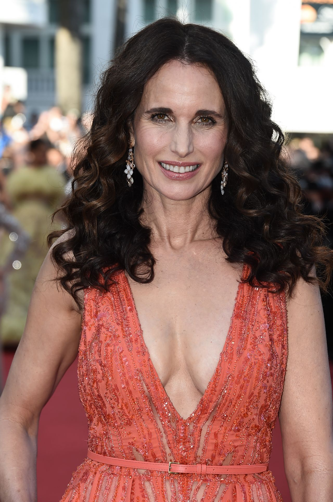 Andie Macdowell Inside Out Premiere 2015 Cannes Film