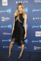 Andrea Pejic - VIP Red Carpet Suite at the 26th Annual GLAAD Media Awards in New York