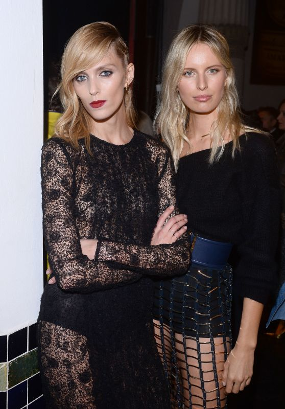 Anja Rubik & Karolina Kurkova - La Mania Fashion Show in Warsaw, April 2015