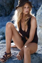 Anna Ewers Bikini Photoshoot Shoot for Vogue Magazine (UK), May 2015