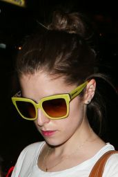 Anna Kendrick at LAX Airport, May 2015