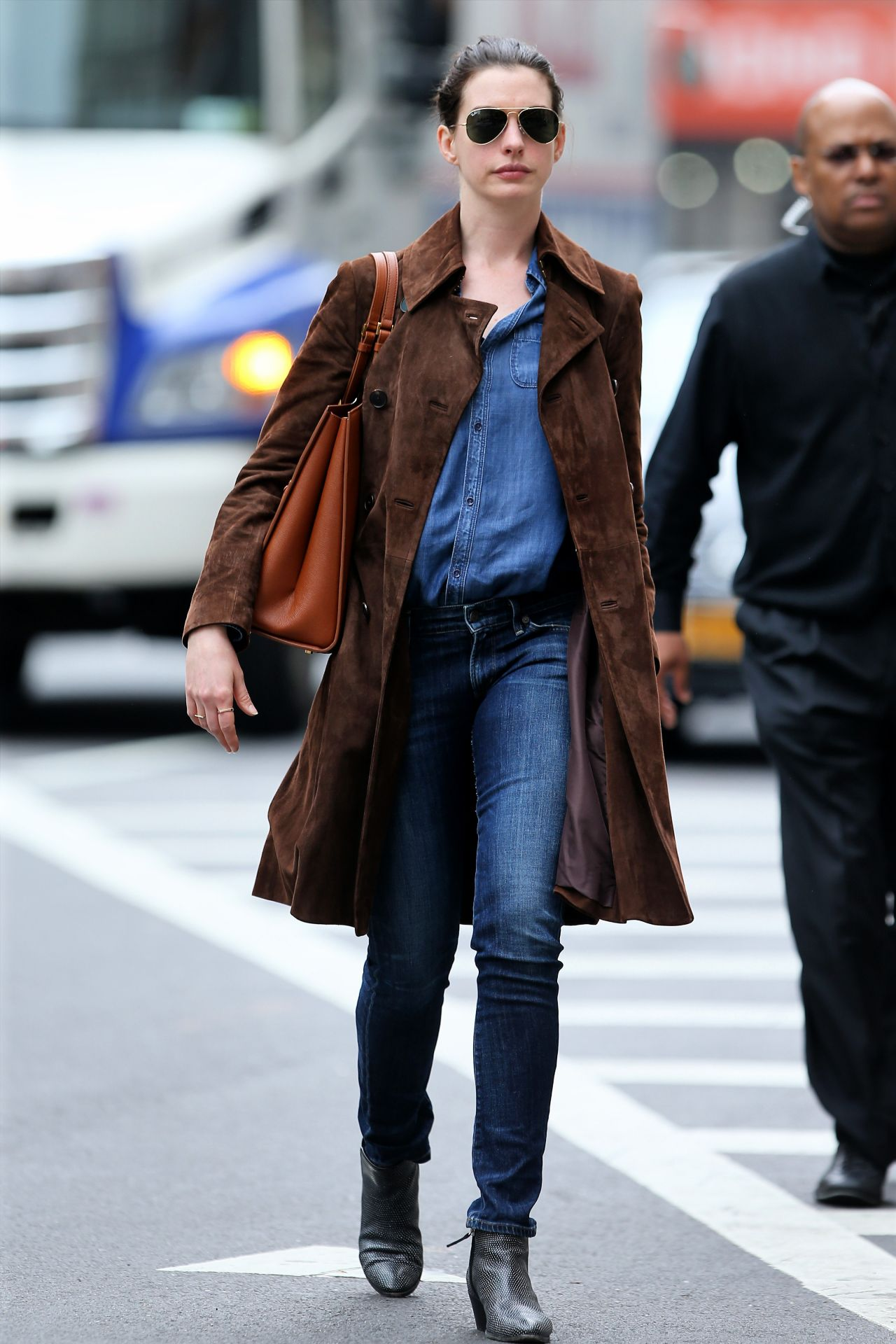 anne hathaway casual style - photo #11