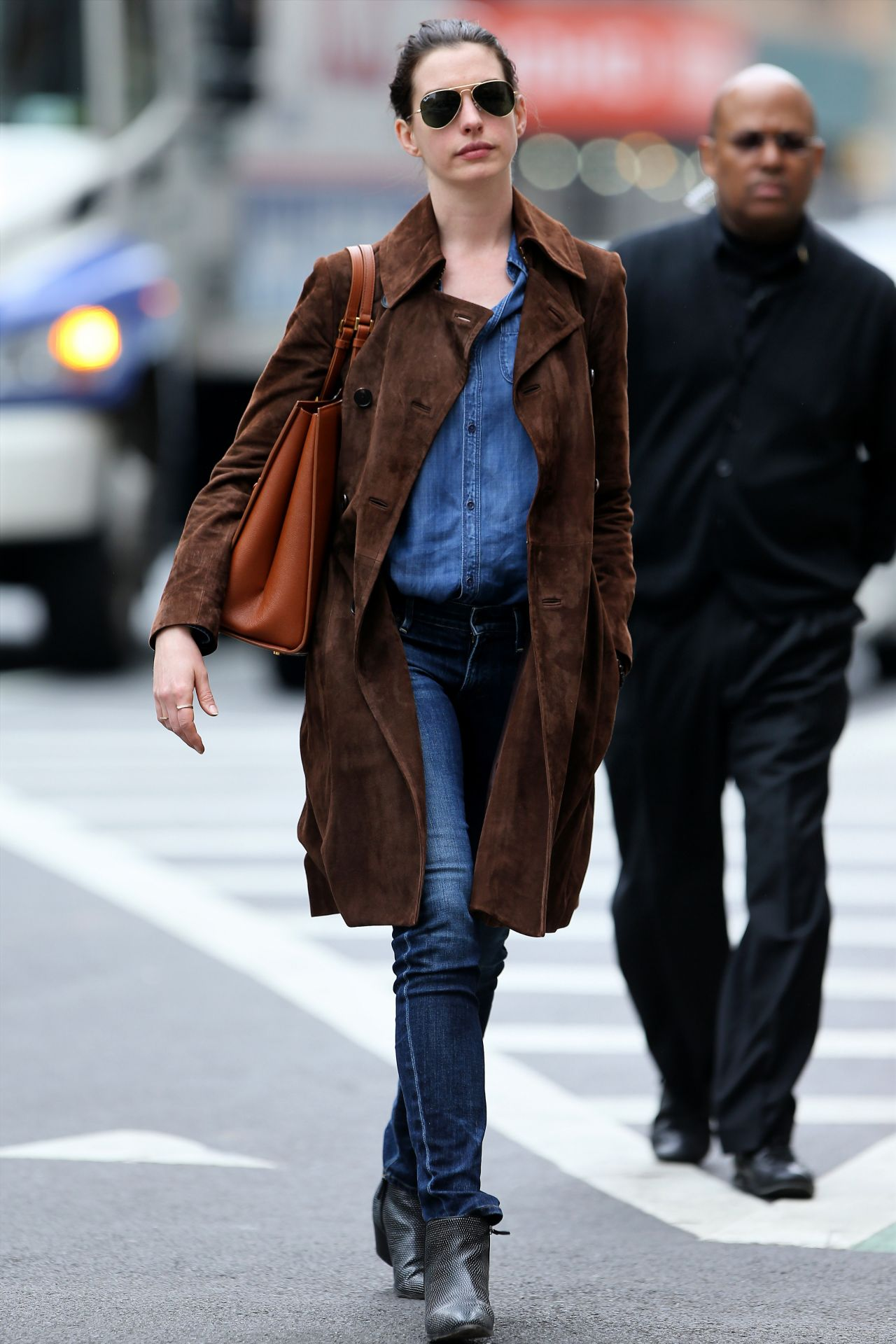 anne hathaway casual style - photo #8