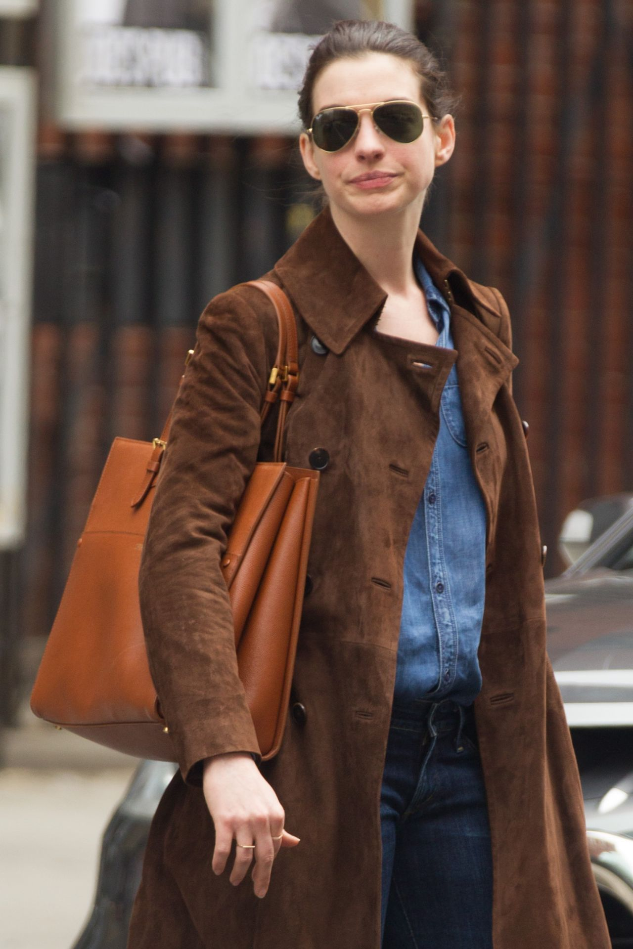 anne hathaway casual style - photo #44