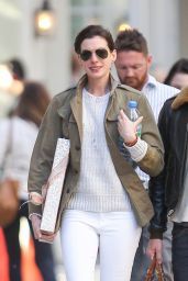 Anne Hathaway - Out in New York City, May 2015