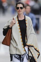 Anne Hathaway Style - New York City, May 2015