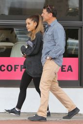 Ariana Grande in Leggings - Out in West Hollywood, May 2015