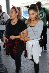 Ariana Grande - LAX Airport, May 2015