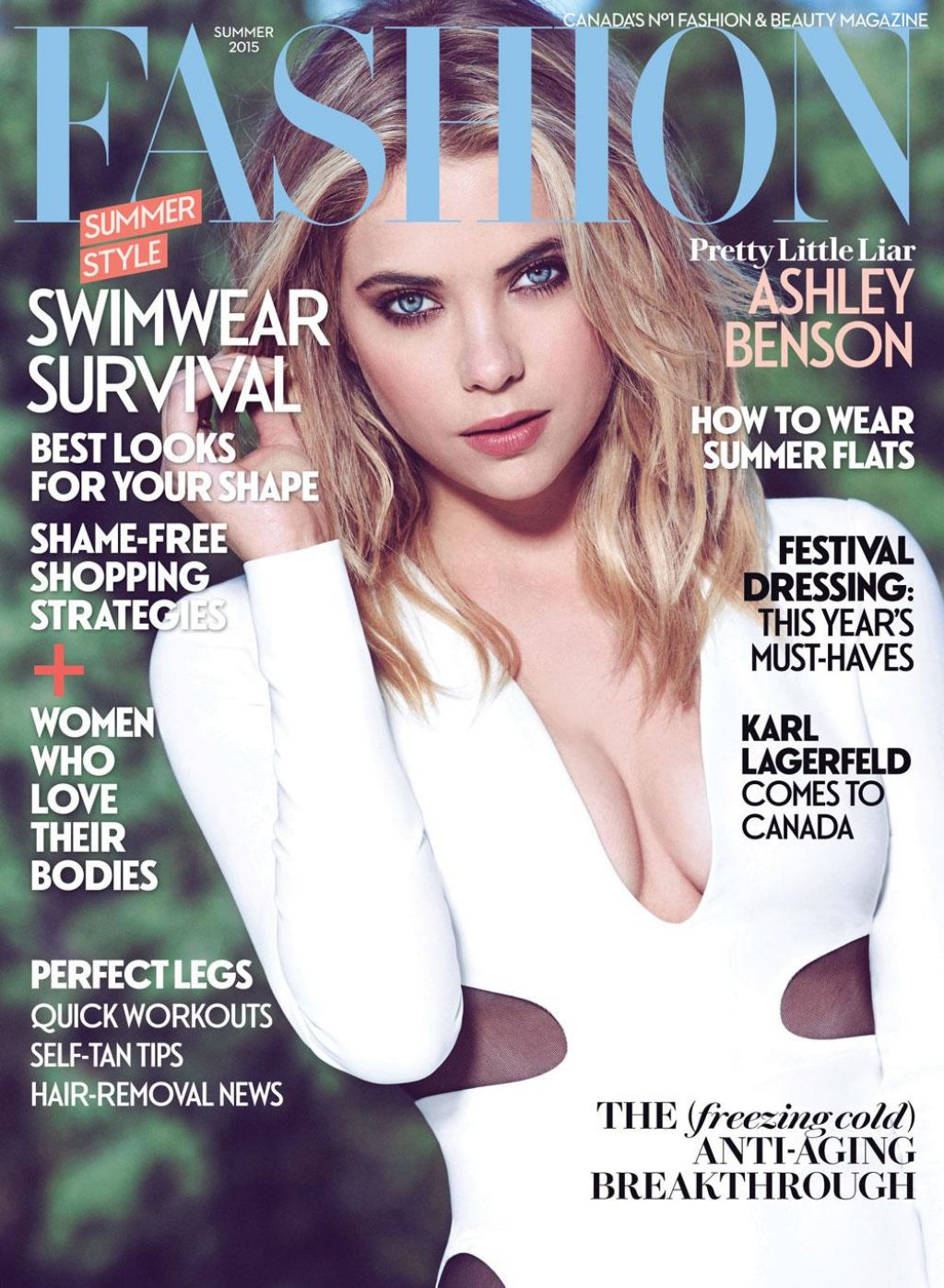 Fashion Magazine May 2015 Cover And Photo