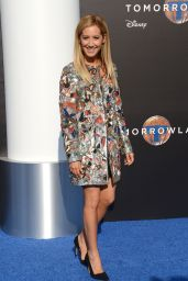 Ashley Tisdale – Tomorrowland Premiere in Anaheim