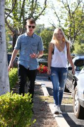 Ava Sambora in Ripped Jeans - Out in Calabasas, May 2015