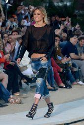Bar Refaeli - Replay Spring/Summer 2016 Fashion Show at Nammos Beach Club in Mykonos