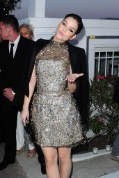 Barbara Palvin - Vanity Fair and Chanel Dinner in Golfe-Juan, France, May 2015