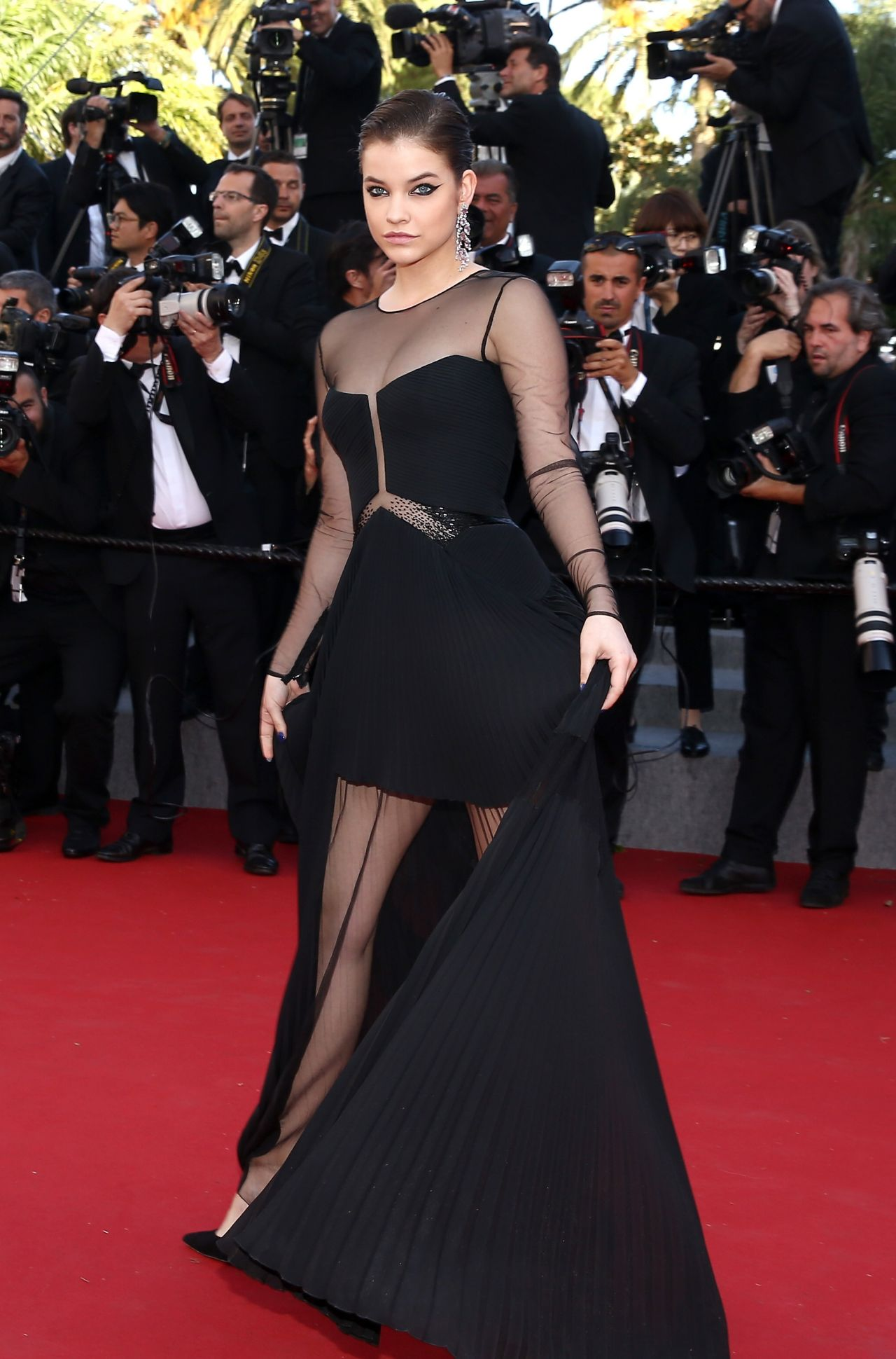 Barbara palvin youth premiere at 2015 cannes film festival - Barbara palvin red carpet ...