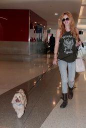 Bella Thorne at LAX Airport, May 2015