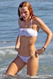 Bella Thorne Bikini Pics - at the Beach, April 2015