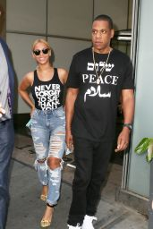 Beyoncé and Jay-Z - Out in NYC, May 2015
