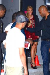 Beyoncé Night Out Style - Leaving Terminal 5 in NYC, May 2015