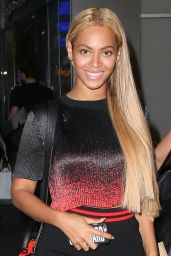 Beyonce Knowles Style - Out in New York City, May 2015