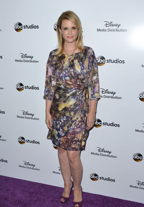Bonnie Somerville - Disney Media Distribution 2015 International Upfront in Burbank
