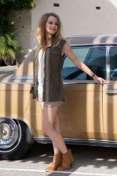 Bridgit Mendler - American Rag Photoshoot 2015