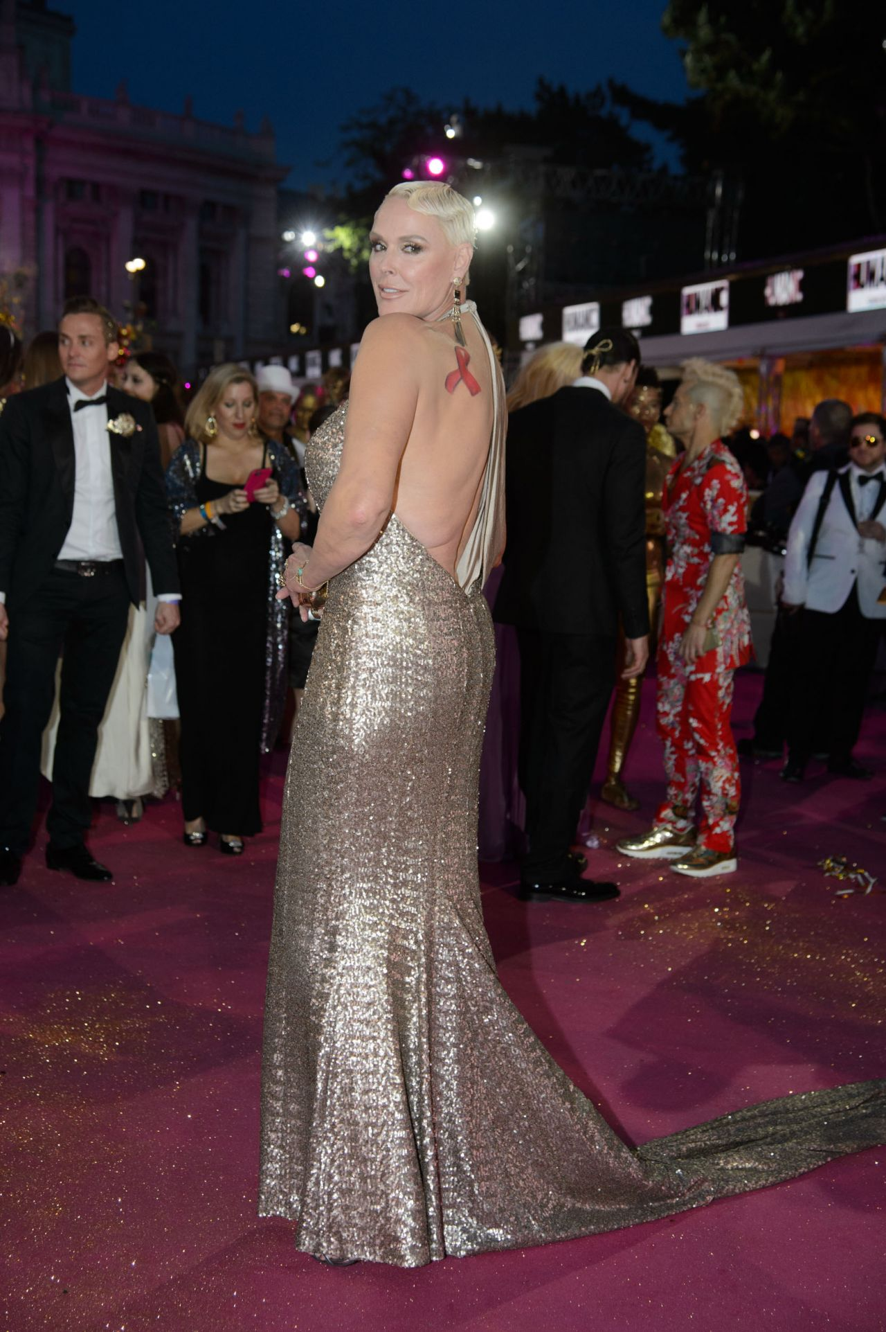 Brigitte Nielsen Life Ball 2015 Weekend At City Hall In