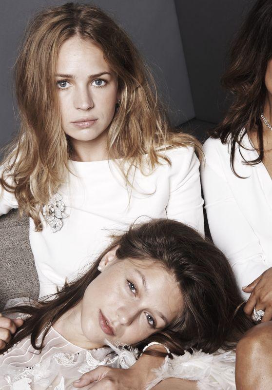Britt Robertson, Liana Liberato, Melissa Benoist & Tessa Thompson - Elle Photoshoot 2014