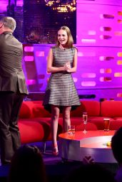 Britt Robertson - The Graham Norton Show in London, May 2015