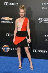 Britt Robertson - Tomorrowland Premiere in Anaheim