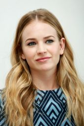 Britt Robertson - Tomorrowland Press Conference in Beverly Hills