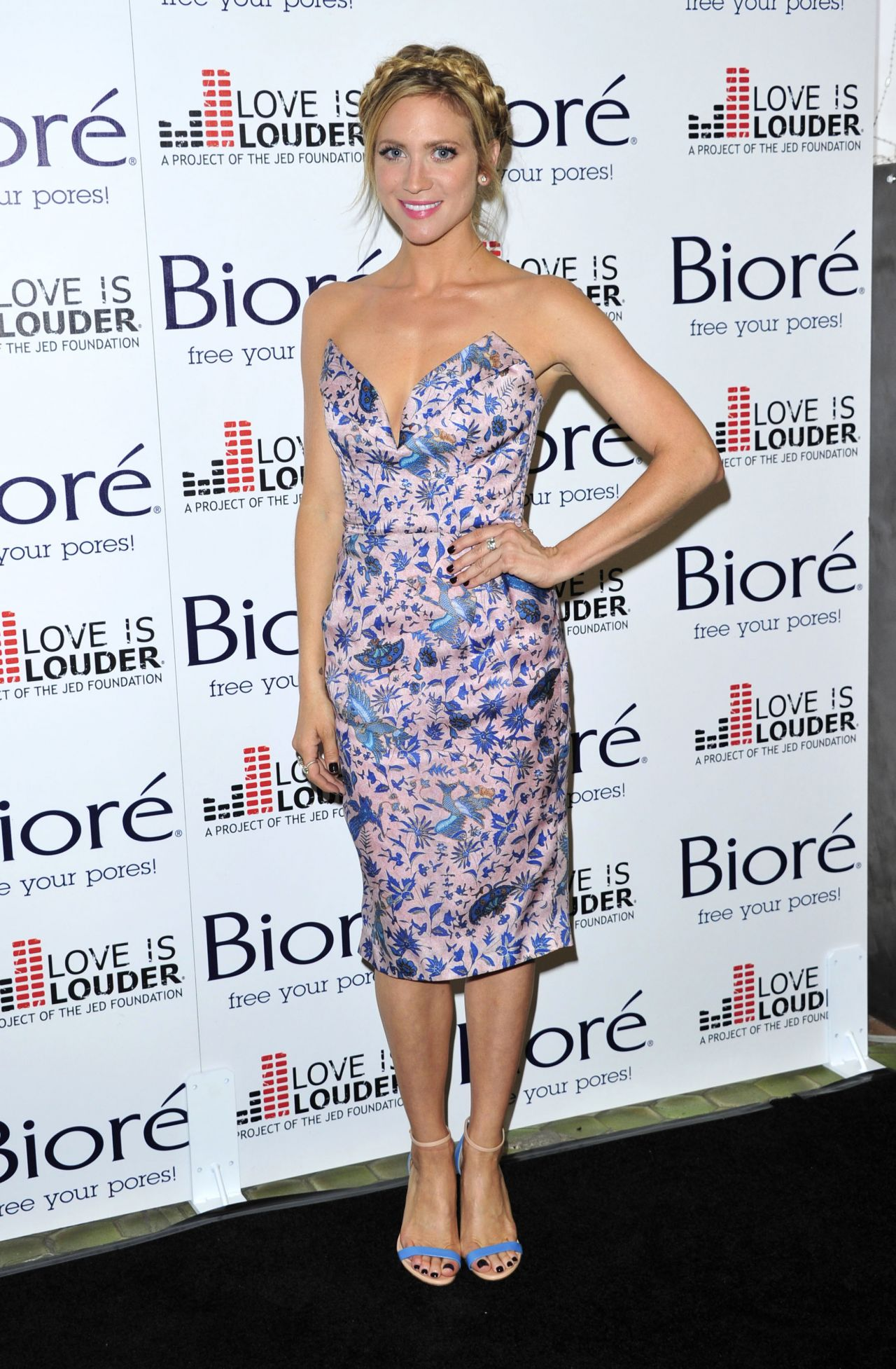Brittany Snow Love Is Louder Project Event In Los