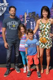 Brooke Burke - Marvel Universe LIVE! Celebrity Premiere in Inglewood
