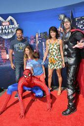 Brooke Burke - Marvel Universe LIVE! Celebrity Premiere in Inglewood