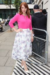 Bryce Dallas Howard at BBC Radio 2 in London, May 2015