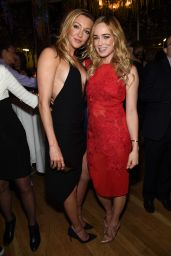 Caity Lotz & Katie Cassidy - 2015 CW Upfront Party in New York City
