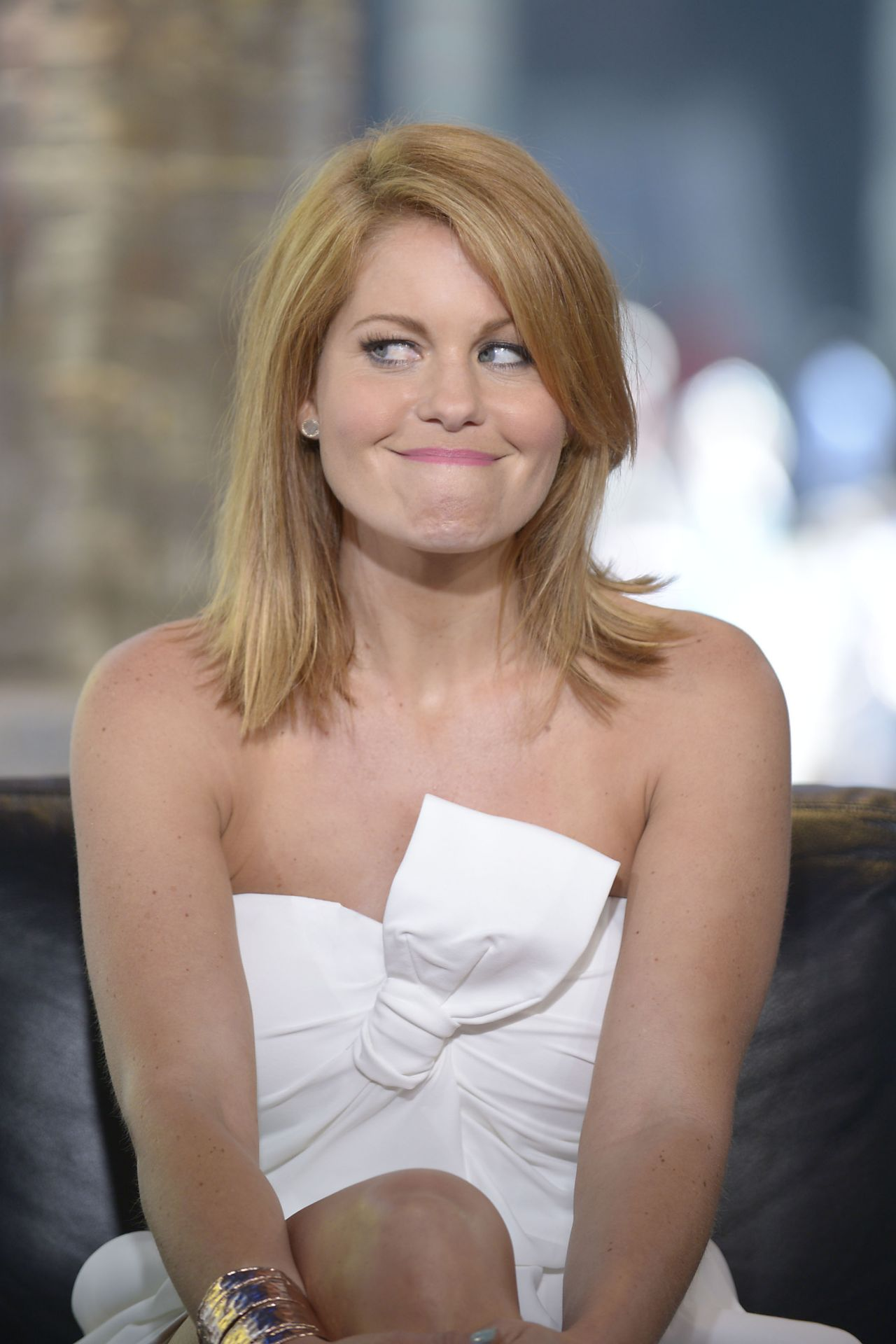 Candace Cameron Bure Vh1 Big Morning Buzz In New York